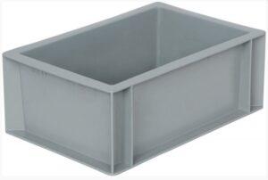 Пластиковый ящик без ручек