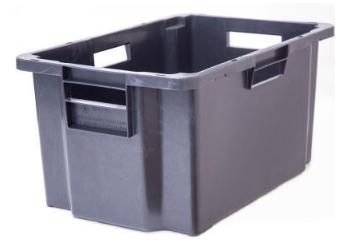 Ящик для мяса пластиковый