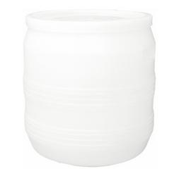 Бочка пластиковая белая 35 л Арт. БП 35