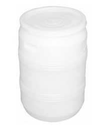 Бочка пластиковая белая 50 л Арт. БП 50