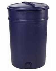 Бочка пластиковая с отверстием под кран 205 л Арт.БП 205 п