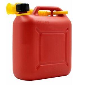 Канистра пластиковая 10 л для топлива Арт.КП-ГСМ 10 красная
