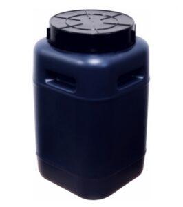 Пластиковая бочка квадратная 20 л (фляга) Арт.ФЛ-20Н