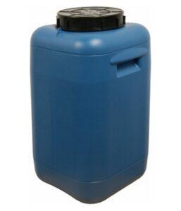 Пластиковая бочка квадратная 50 л (фляга) Арт.ФЛ-50Н