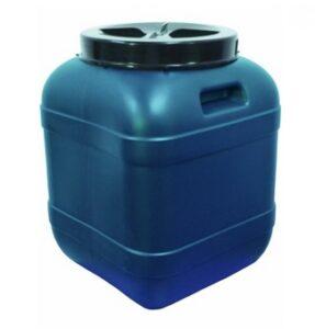 Пластиковая бочка квадратная 60 л (фляга) Арт.ФЛ-60Н