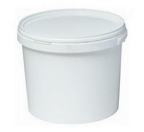 Ведро пластиковое с крышкой 5,7 л Арт.ВП 5,7м