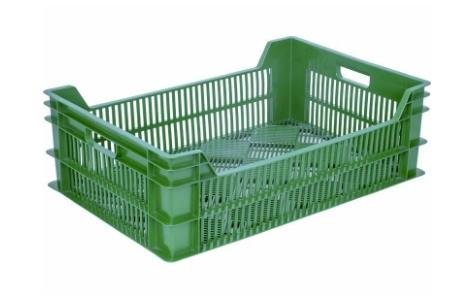 Ящик фруктовый зеленый 106