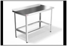 Стол производственный с бортом  СПБ-1500/600-с