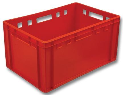 Пластиковый ящик мясной Е3 арт 210