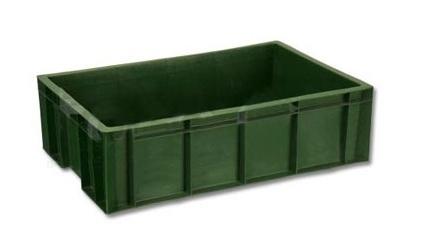 Ящик пластиковый мясной под полуфабрикаты арт 214