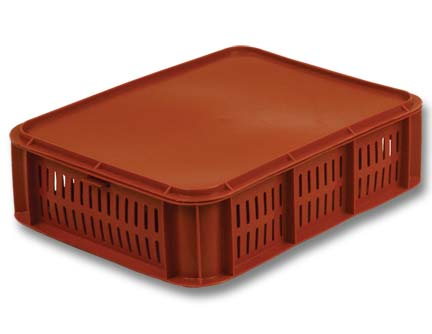ящик пластиковый под пирожное 405-b