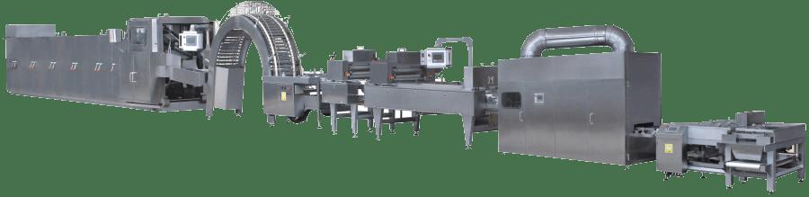 Автоматическая линия для производства вафель