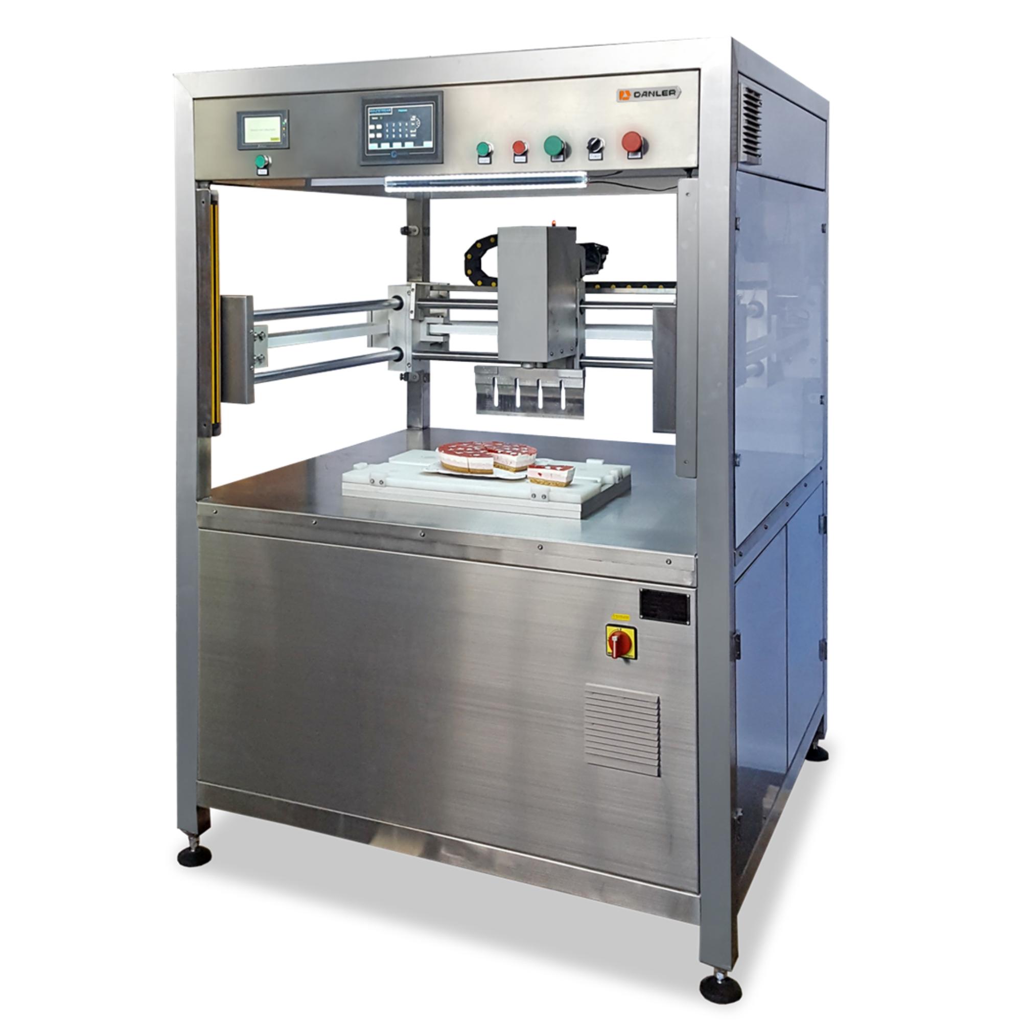 Машина для вертикальной нарезки тортов и бисквита Danler GL-400
