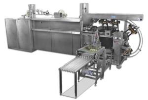 Линия для производства литых вафельных рожков