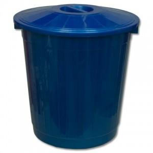 Пластиковый мусорный бак