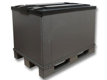 Разборные пластиковые контейнеры P-Box