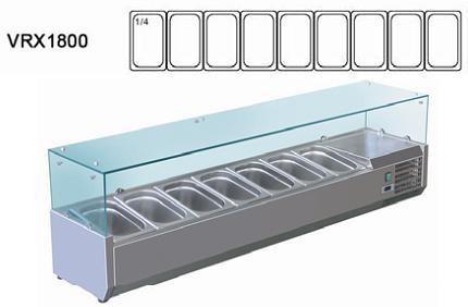 Витрина холодильная VRX 1800/330