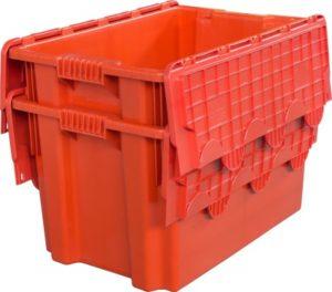 Ящик с крышкой 600x400x365 сплошной Арт.603-1
