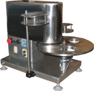 Укупорочная машина стаканов полистирольных платинками ИПКС-122УС(Н)