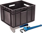 Ящик пластиковый 430*345*285