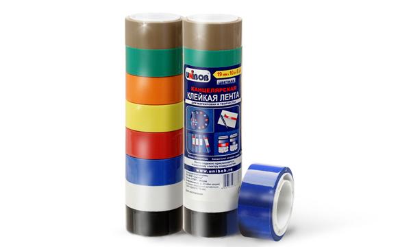 Клейкие ленты для маркировки и творчества UNIBOB