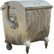 Оцинкованный мусорный контейнер 1100 литров