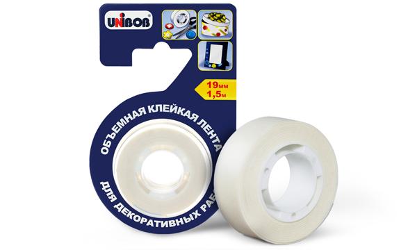 Объемная клейкая лента для декоративных работ UNIBOB®