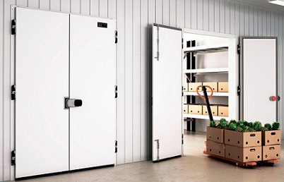 Распашные двухстворчатые двери с накладной рамой РДД (КС)