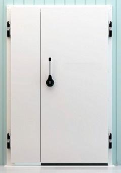 Распашные промышленные холодильные двери общего назначения