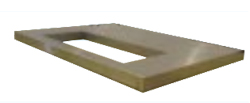 Металлическая крышка бункера для льда CBT30EFSD